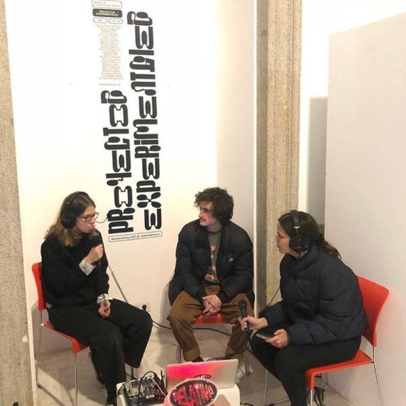 IED EXPERIMENTAL PROJECTS w/ Futuro Studio & Andrea González show on Radio Relativa