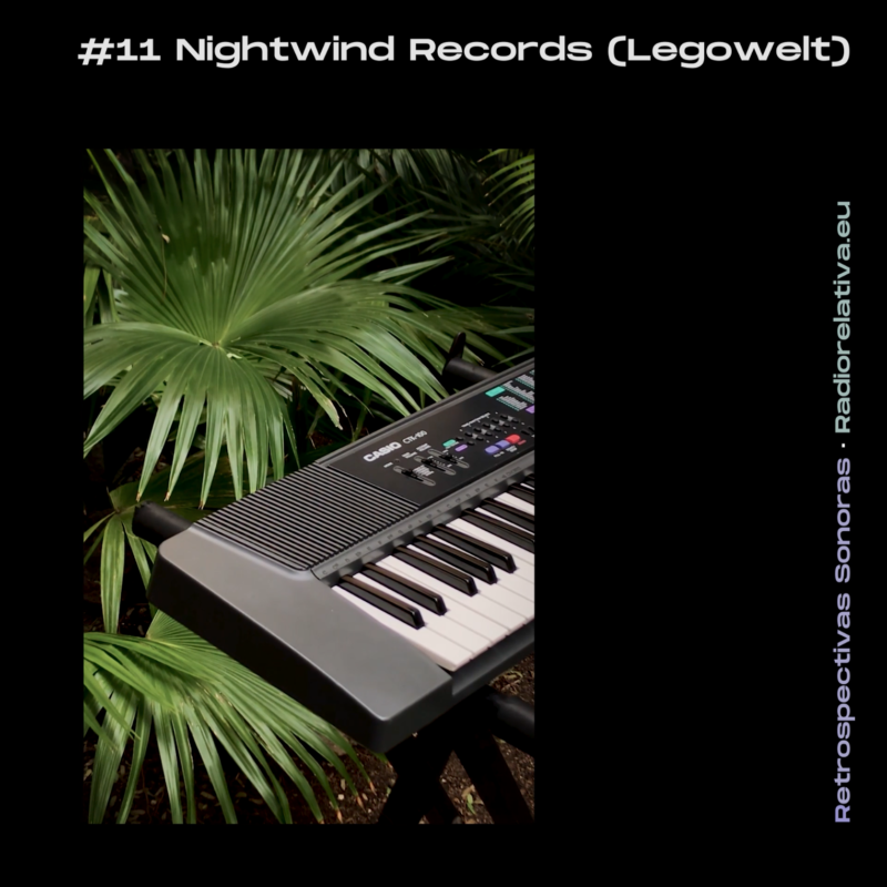 RETROSPECTIVA SONORA: Nightwind Records (Legowelt) show on Radio Relativa
