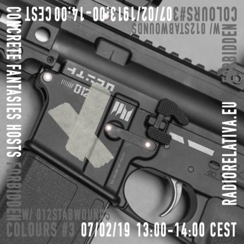 FORBIDDEN COLOURS w/ 012stabwounds show on Radio Relativa